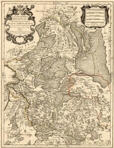 La Seigneurie d'Over-Yssel, subdivisée en Trois Parties Sallant, Twente, et Drente