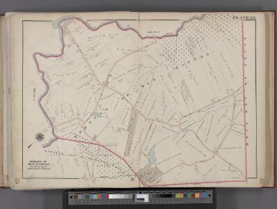 Bergen County, V. 1, Double Page Plate No. 28 [Map of borough of Old Tappan] / by George W. and Walter S. Bromley.