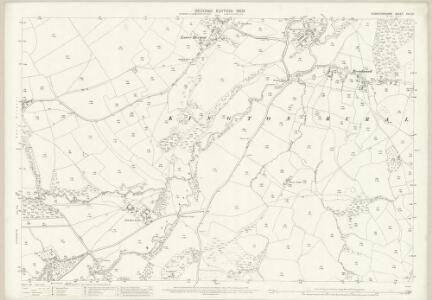 Herefordshire XVII.10 (includes: Huntington; Kington Rural) - 25 Inch Map