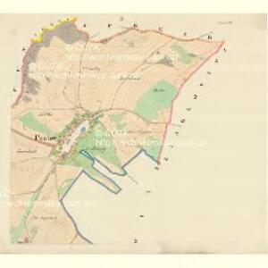 Pawlow - m2239-1-002 - Kaiserpflichtexemplar der Landkarten des stabilen Katasters