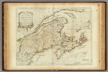 A New Map of Nova Scotia, and Cape Breton Island.