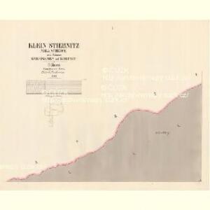 Klein Stiebnitz (Mala Stjbnice) - c9236-3-001 - Kaiserpflichtexemplar der Landkarten des stabilen Katasters