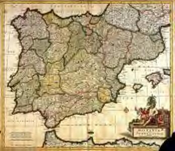 Novissima regnorum Hispaniæ et Portugalliæ tabula
