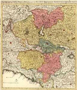 Sedes Belli in Italia; in quâ sunt Ducatus Mantuensis, Modenensis