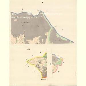 Braune (Wranowa) - m3471-1-002 - Kaiserpflichtexemplar der Landkarten des stabilen Katasters