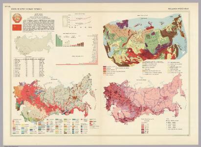 Union of Soviet Socialist Republics.  Pergamon World Atlas.