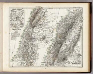 Palastina. Das Libanon-Gebiet.