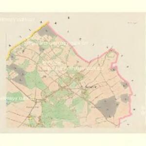 Katscher (Katčerov) - c2962-1-001 - Kaiserpflichtexemplar der Landkarten des stabilen Katasters