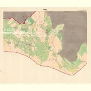 Alt Hrosenkau (Stary Hrasenkow) - m2868-1-016 - Kaiserpflichtexemplar der Landkarten des stabilen Katasters