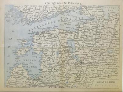 Von Riga nach St. Petersburg