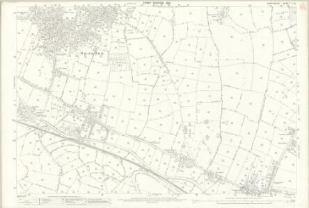 Derbyshire L.15 (includes: Derby; Elvaston; Ockbrook; Spondon) - 25 Inch Map