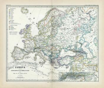 Europa nach seinen ethnographischen Verhältnissen in der Mitte des XIX Jahrhunderts