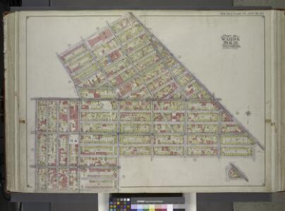 Brooklyn, Vol. 1, 2nd Part, Double Page Plate No. 30; Part of Wards 19 & 21, Section 6 & 8; [Map bounded by Heyward St., Broadway, Lewis Ave., Stockton St., Marcy Ave.; Including Willoughby Ave., Bedford Ave., Flushing Ave., Lee Ave.]; Sub Plan [Map b...