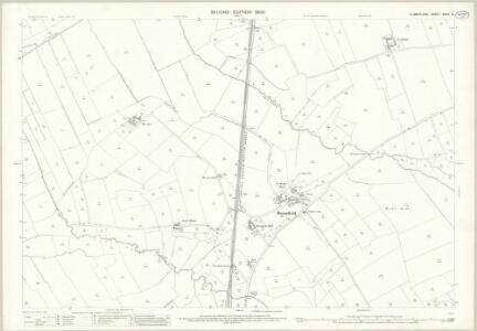 Cumberland XXVIII.10 (includes: Bromfield) - 25 Inch Map
