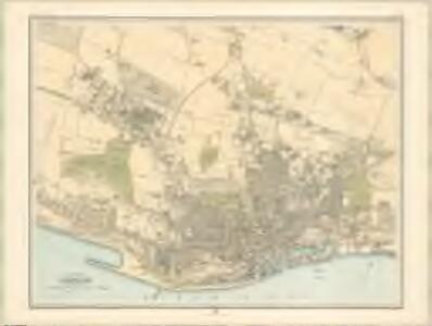 Plan of Dundee - Bartholomew's 'Survey Atlas of Scotland'