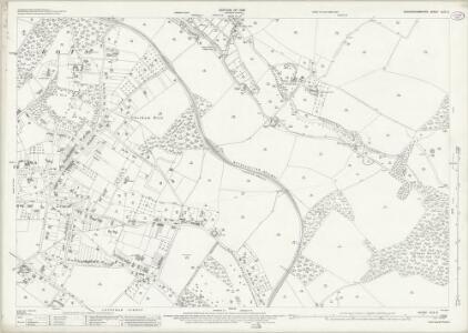 Buckinghamshire XLIII.2 (includes: Amersham; Chesham; Chesham Bois; Latimer) - 25 Inch Map