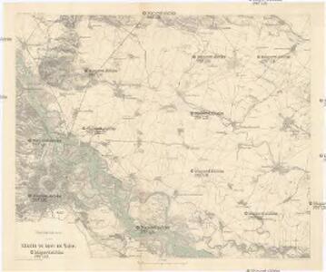 Übersichtskarte zu den Schlachten von Aspern und Wagram