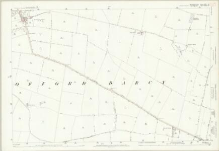 Huntingdonshire XXII.13 (includes: Graveley; Offord Cluny; Offord Darcy) - 25 Inch Map