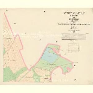 Klattau (Klattowy) - c3137-1-004 - Kaiserpflichtexemplar der Landkarten des stabilen Katasters