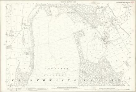 Westmorland XXXVIII.13 (includes: Crosthwaite And Lyth) - 25 Inch Map