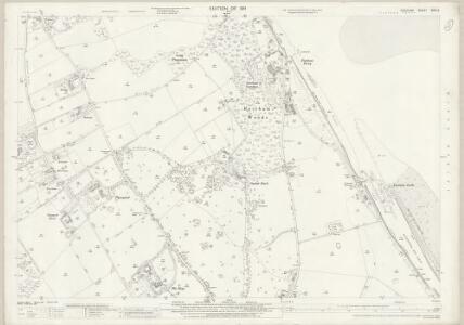 Cheshire XXIII.5 (includes: Bebington and Bromborough; Eastham) - 25 Inch Map
