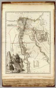 Carte de l'Egypte Ancienne et Moderne.