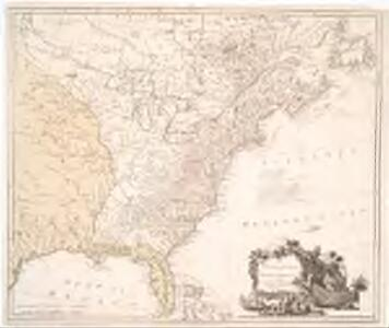 The United States of North America, with the British & Spanish territories according to the Treaty of 1784 / engrav'd by Wm. Faden, 1785.