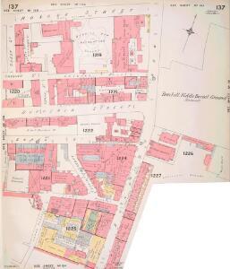 Insurance Plan of London Vol. VI: sheet 137-1
