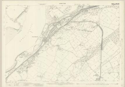 Anglesey XXIII.6 (includes: Llanddaniel Fab; Llanddeiniolen; Llanfair Is Gaer; Pentir) - 25 Inch Map