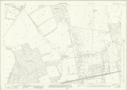 Surrey XXIV.6 (includes: Send; West Clandon) - 25 Inch Map