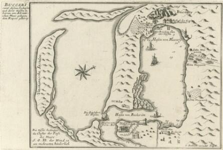 Buccari samt dessen Seehafen und derer tieffen in Istrien am Adriatischen Meer gelegen dem Kayser gehörig