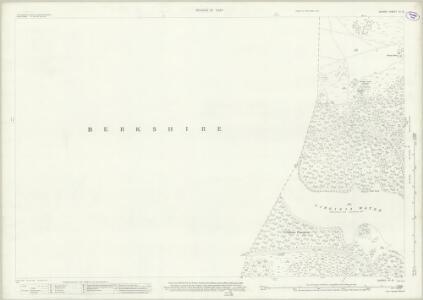 Surrey IV.15 (includes: Egham; Old Windsor; Sunningdale; Sunninghill) - 25 Inch Map