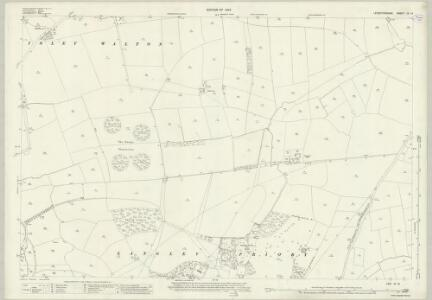 Leicestershire IX.12 (includes: Breedon on the Hill; Castle Donington; Isley cum Langley; Long Whatton) - 25 Inch Map