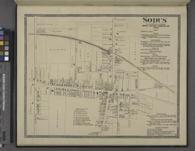 Sodus [Village]; Sodus (Village) Business Notices.