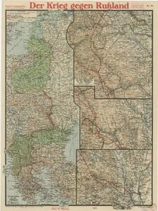 Paasche's Frontenkarte, Nr.20. Der Krieg gegen Russland