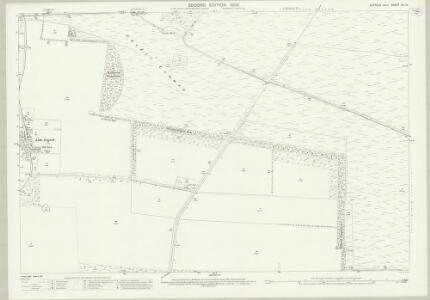 Suffolk XII.14 (includes: Eriswell; Lakenheath) - 25 Inch Map