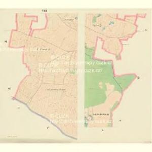 Borkowitz - c0380-1-005 - Kaiserpflichtexemplar der Landkarten des stabilen Katasters