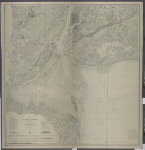 Map of New-York Bay and Harbor and the environs / founded upon a trigonometrical survey under the direction of F. R. Hassler, superintendent of the Survey of the Coast of the United States ; triangulation by James Ferguson and Edmund Blunt, assistants ;