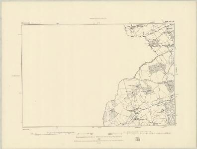 Devonshire CXI.NE - OS Six-Inch Map