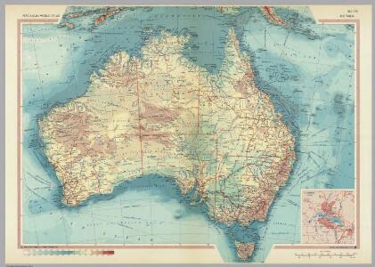 Australia.  Pergamon World Atlas.