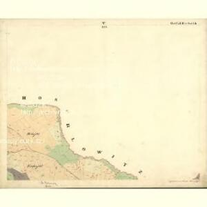 Tweras - c7609-1-005 - Kaiserpflichtexemplar der Landkarten des stabilen Katasters