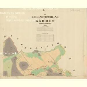 Gollnetschlag - c3144-1-002 - Kaiserpflichtexemplar der Landkarten des stabilen Katasters