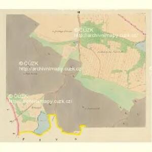 Drahonitz (Drahonice) - c1495-1-006 - Kaiserpflichtexemplar der Landkarten des stabilen Katasters