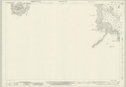 Cornwall LXXIV.8 (includes: Perranuthnoe; St Michaels Mount) - 25 Inch Map