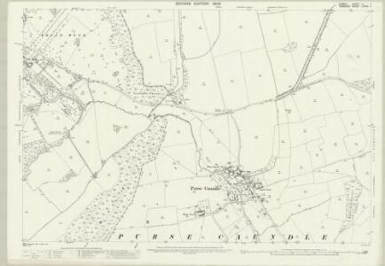 Dorset VI.11 (includes: Henstridge; Milborne Port; Purse Caundle; Stalbridge) - 25 Inch Map