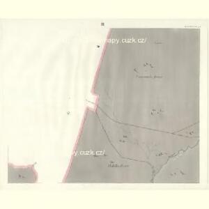 Gross Aurzim (Welky Auřim) - c8466-1-003 - Kaiserpflichtexemplar der Landkarten des stabilen Katasters