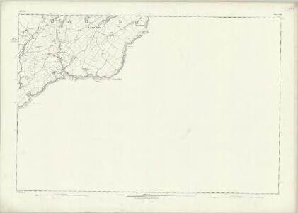 Isle of Man XVII - OS Six-Inch Map