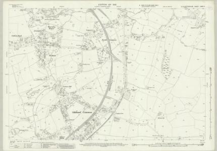 Gloucestershire LXXVI.4 (includes: Bitton; Oldland; Siston; Wick and Abson) - 25 Inch Map