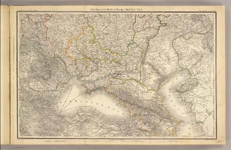 Das Russische Reich in Europa Sud.