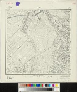 Messtischblatt 1447 : Littel, 1925 Littel